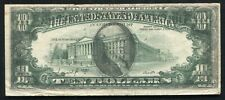 "1977-A $10 FEDERAL RESERVE NOTE ""COMPLETE FACE TO BACK OFFSET PRINTING ERROR"""