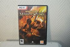 JEU PC DVD ROM  WARHAMMER MARK OF CHAOS JDR  BANDAI NAMCO GAMES