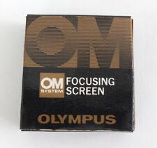 Olympus OM Pantalla De Enfoque Tipo Cruz De Cabello 1-12