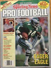 Sporting News Football Yearbook 1993 Eagles Herschel Walker