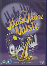Make Mine Music - Disney's 8th animated classic New & Sealed Disney UK R2 DVD