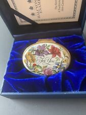 "Halcyon Days - "" For You "" - enameled box"