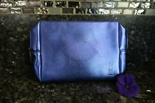 Yves Saint Laurent stardard pouch blue make up bag New in package