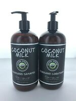 Renpure Coconut Milk Extra Virgin Coconut Oil Shampoo & Conditioner - 16 oz EA