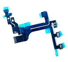 For iPhone 5C Power Mute Sleep Flex Cable Switch Volume Buttons with Flash & Mic