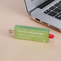 Premium USB-RTL-SDR w / 0,5 PPM TCXO Metall Fall SMA R820T2 RTL2832U grün