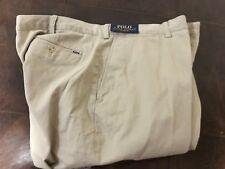 New polo Ralph Lauren men chino Khaki pants 48 X 34 Big