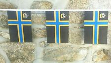 Caithness County Flag Polyester Bunting - Various Lengths