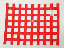 "Racequip Safequip Red Ribbon Window Net for Grasstrack BRISCA Racing 18"" x 24"""