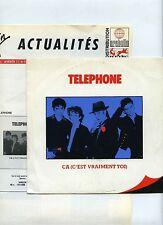 45 RPM SP TELEPHONE CA C'EST VRAIMENT TOI + VIRGIN ACTUALITES