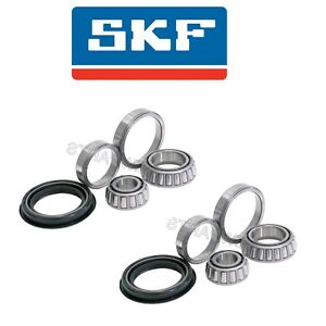 For Mercedes R107 W110 W114 W115 68-84 Pair Set of 2 Front Wheel Bearing Kit SKF
