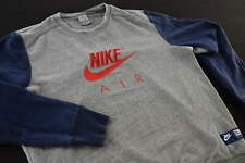 Nike suéter suéter Sweat camisa Sweater Jumper top retro spellout rythm talla m
