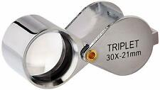 SE MJ3921C-30X Professional 30x 21mm Triplet Jeweler's Loupe