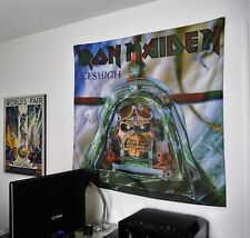 IRON MAIDEN Aces High HUGE BANNER fabric poster tapestry flag cd album eddie