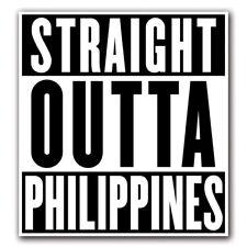 STRAIGHT OUTTA PHILIPPINES - Decal Macbook Air Laptop Truck Skin Sticker iPad