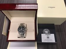 New Longines L28594516  Master Collection 44mm Chronograph Automatic