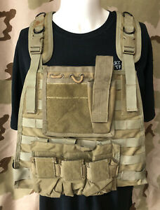 BlackHawk Hard plate carrier SF Ranger Assault Old Gen Admin Pouch Triple