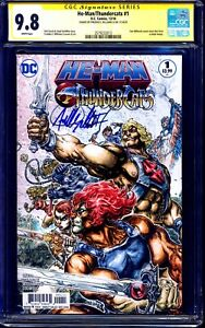 He-Man Thundercats #1 CGC SS 9.8 signed HEROES VARIANT Freddie Williams II NM/MT