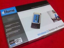 E-HOME NETWORKING WIRELESS G NOTEBOOK ADAPTER  EH101 (FREE SHIPPING)