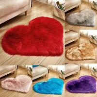 Fluffy Rug Anti-Skid Shaggy Area Rug Home Dining Living Room Carpet Floor Mat