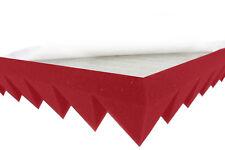 Pyramidenschaumstoff Rot 5cm SELBSTKLEBEND Akustik Schaumstoff Schall Dämmung