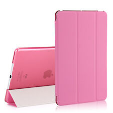 Slim Leather Smart Cover Back Case for Apple iPad 2 3 4 Mini 2/3 &Air& 2017 9.7""