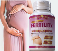 FEMALE FERTILITY INCREASE NATURAL AID SUPPORT OVULATION CONCEPTION HERBAL PILLS