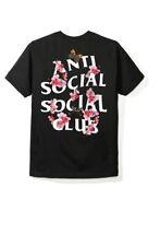 Anti Social Social Club ASSC Logo KKOCH Black Tee Shirt Size Small T-Shirt