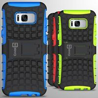For Samsung Galaxy S8 Plus Case Hard Protective Kickstand Phone Cover