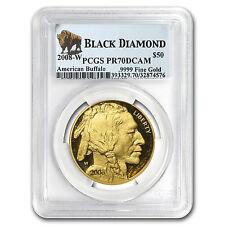 2008-W 1 oz Proof Gold Buffalo PR-70 PCGS (Black Diamond) - SKU #64373
