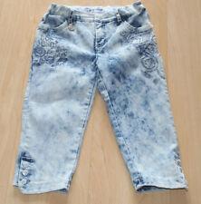 Kinder-Jeans°Hose°134°Pampolina°Jeanshose°7/8 Stiefel-Hose°Stretchhose°handmade