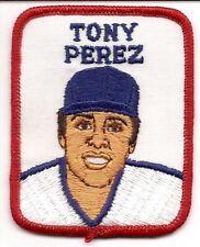 TONY PEREZ 1978-79 Vintage Penn Emblem Baseball Patch Reds-Expos-Boston Red Sox