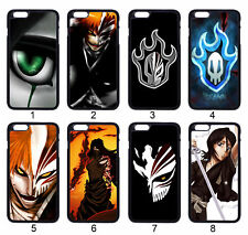 BLEACH Anime Logo Ichigo Skull Case Cover For Samsung Galaxy / Apple iPhone iPod