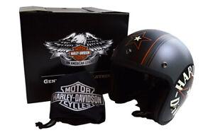 ARAI & HARLEY-DAVIDSON Motorcycle 3/4 REDSTAR/GREY Jet Helmet 98327-14VA F/S