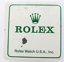 VINTAGE ROLEX STORAGE / PARTS METAL TIN. USED CONDITION, NO CONTENTS. #1