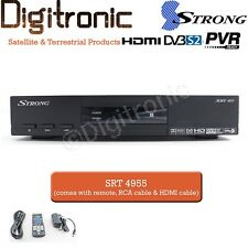 STRONG SRT 4955 HD Satellite TV Receiver MPEG4 DVBS2 PVR Media Player RAI Italia