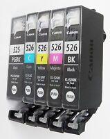5x DRUCKER PATRONEN für CANON PIXMA IP4850 IP4950 IX6550 MG5150 MG5250 MG5350