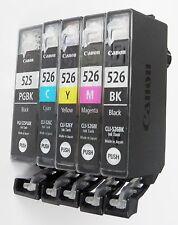 5x Cartuccia inchiostro per Canon Pixma ip4850 ip4950 ix6550 mg5150 mg5250 mg5350