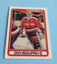 1990/91 O-Pee-Chee Hockey Don Beaupre Card #253***Washington Capitals***