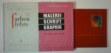 Farbenordnung  Farbenlehre Schrift 3 Bände (W.)