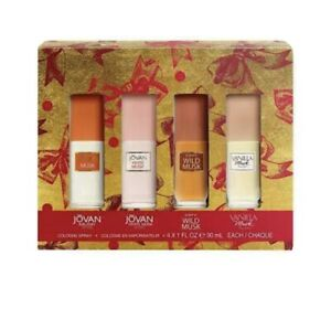 Jovan Musk Woman 4Pcs Gift Set By Jovan