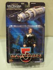 Moc Babylon 5 Captain John Sheridan Action Figure 1997 Exclusive Toy Products
