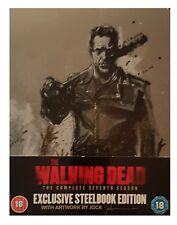 The Walking Dead Season 7 Steelbook Blu Ray UK Edition New Sealed Fast Safe Post
