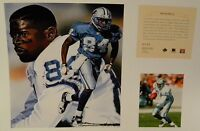 Herman Moore Detroit Lions NFL 11x14 Print George Washington U New York Giants