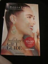 ROSS SIMONS JEWELRY CATALOG 2018 HOLIDAY GIFT GUIDE BRAND NEW