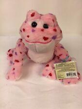 GANZ Webkinz Valentine Love Frog Bean Filled Plush Stuffed Animal Sealed Code