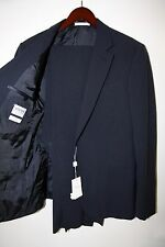#95 Armani Collezioni Wool and Silk S Line Two Button Suit Size 42 R  $2,895