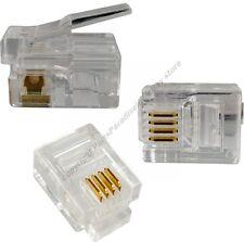 Lot1000 Phone/Telephone Rj11/Rj-11 Crimp end,6P4C