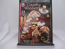Suzanne McNeill Design Originals Country Woodwork's #3177