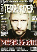 TERRORIZER Magazine #221 April 2012 + FEAR CANDY 105 CD @NEW@ MESHUGGAH; Soulfly